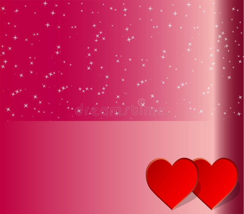 Abstract love heart background stock image