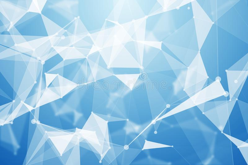 Abstract low poly background royalty free illustration
