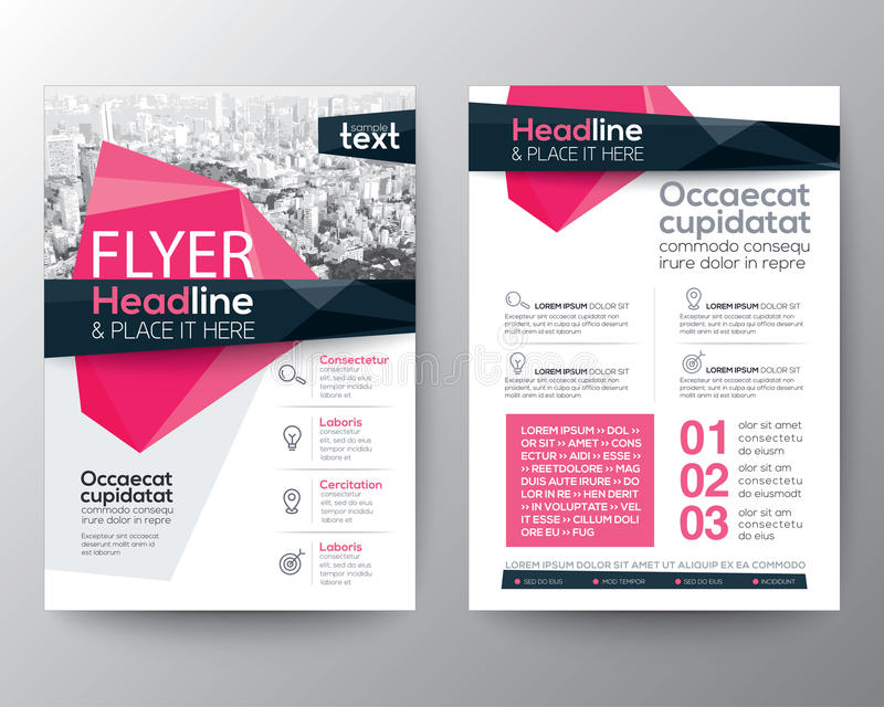 Abstract low polygon background for Poster Brochure Flyer design royalty free illustration
