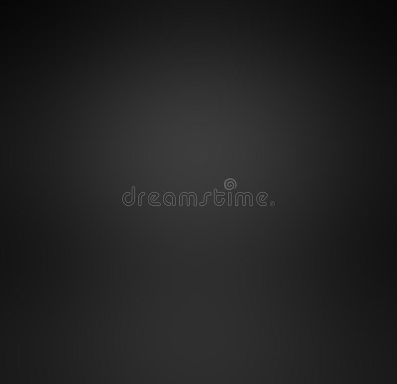 Abstract luxury black gradient with border black vignette background Studio backdrop - well use as back drop background, black bo stock illustration