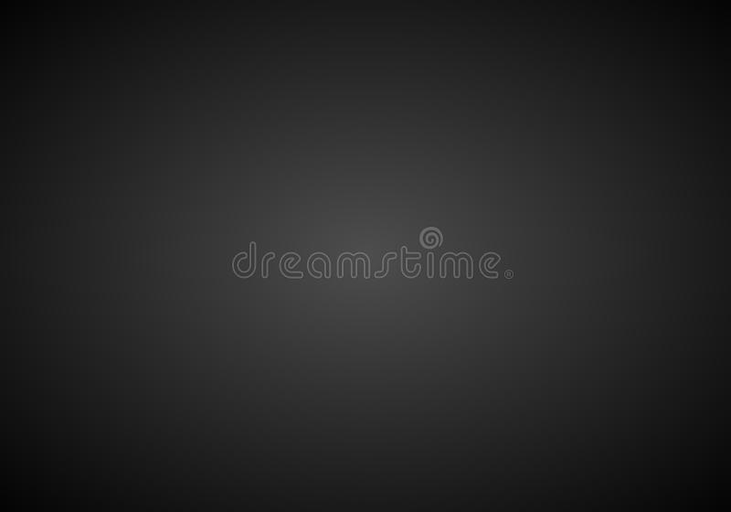 Simple Black & White Abstract Background With Radial Gradient Effect vector illustration