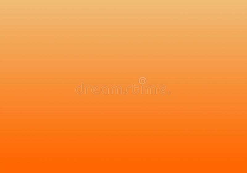 Simple Orange & White Abstract Background With Radial Gradient Effect. Abstract Luxury orange Gradient. Vignette Background Studio Backdrop - Well Use as vector illustration