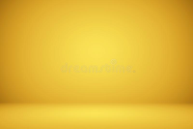 Abstract Luxury Gold Studio well use as background,layout and presentation stock illustration
