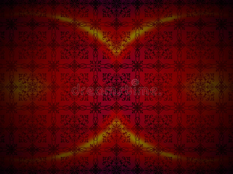 Abstract Luxury Red Background stock image
