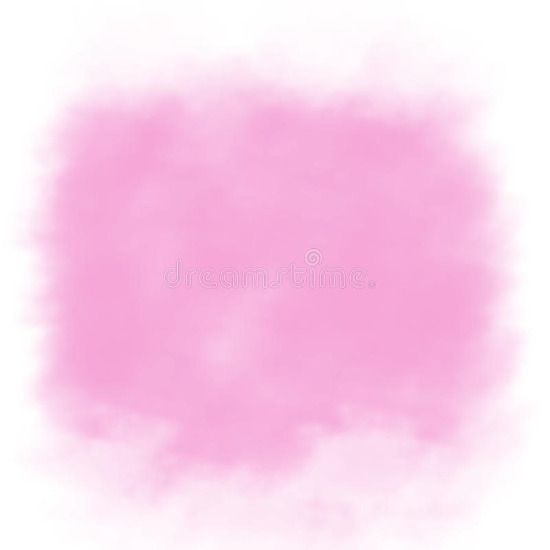 Abstract Magenta Background. Abstract magenta-pink background centered on white vector illustration