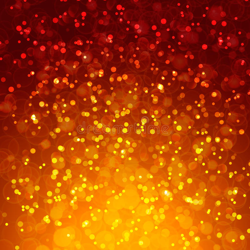 Abstract magic bokeh background stock image