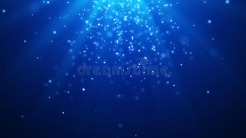 Abstract magic light background. Bokeh background. 3d rendering. Abstract magic light background. Bokeh background vector illustration