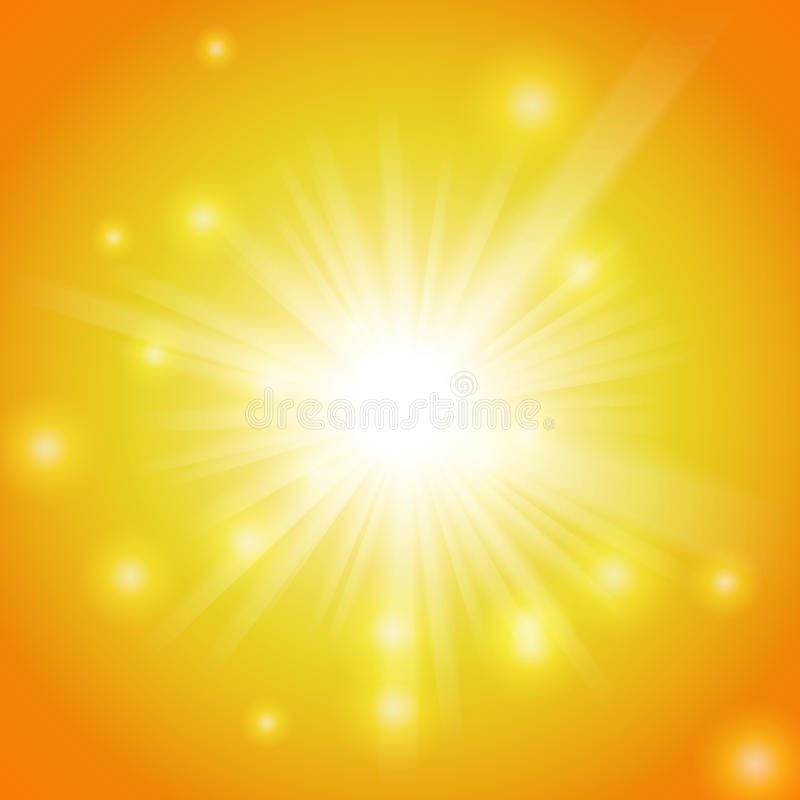 Free Abstract Magic Yellow Light Background Stock Image - 31952131