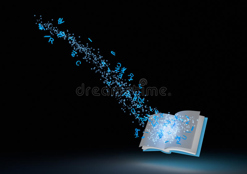 Download Abstract magical book stock illustration. Image of magical - 21124656