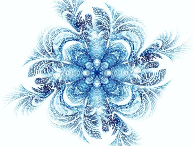 Abstract mandala or flower - digitally generated image vector illustration