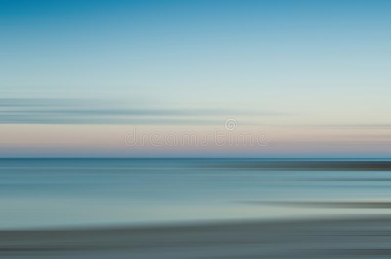 Abstract maritime seascape stock image