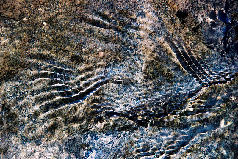 Abstract marks and texture royalty free stock photography