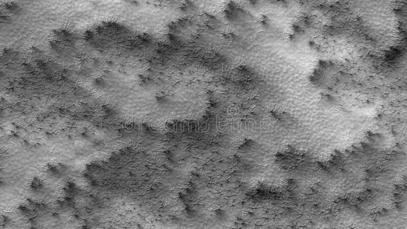 Abstract Mars surface stock photo