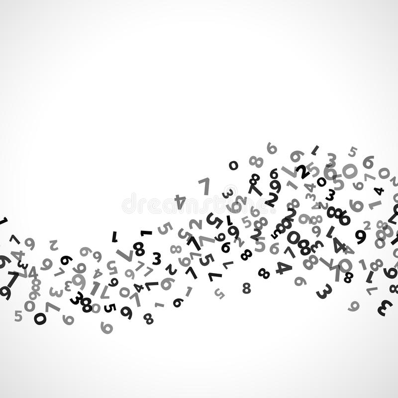 Abstract Math Number Background. Vector Illustration Stock ...  Abstract Math N...