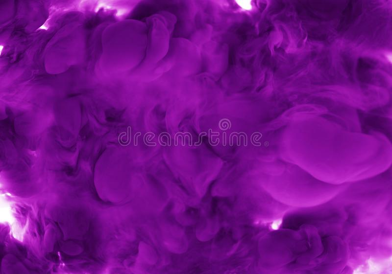 Abstract mauve Art acrylic color smoking background blur mix water ink. Abstract Art acrylic color green smoking background blur mix water ink royalty free stock image