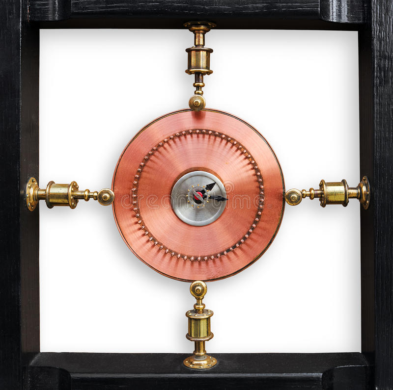 Abstract Mechanical Rotation Device Royalty Free Stock Image