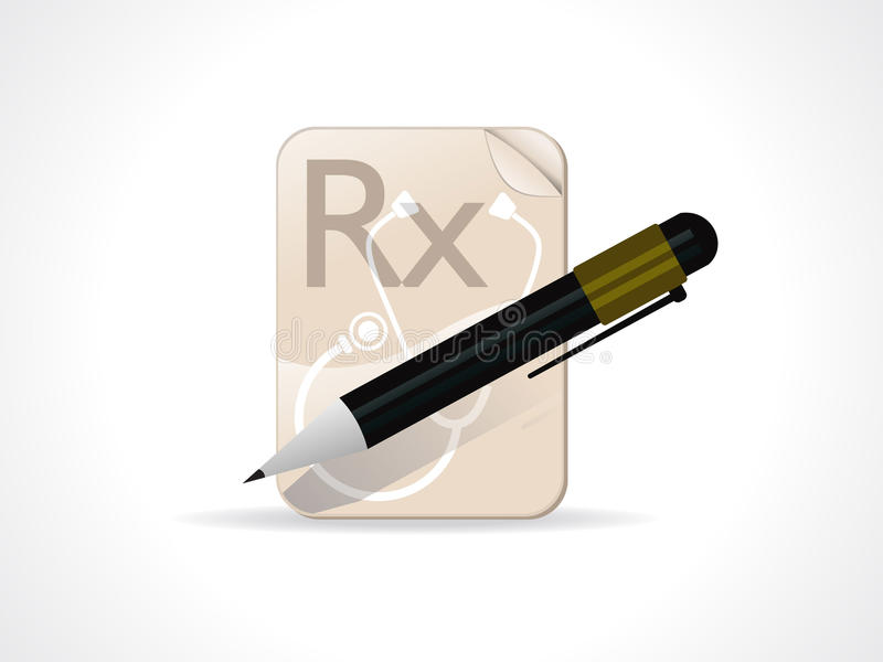 Download Abstract Medical Note Pad With Pen Stock Photography - Image: 15829652