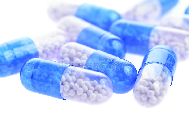 Abstract Medical Pills And Tablets Background Royalty Free Stock Photos