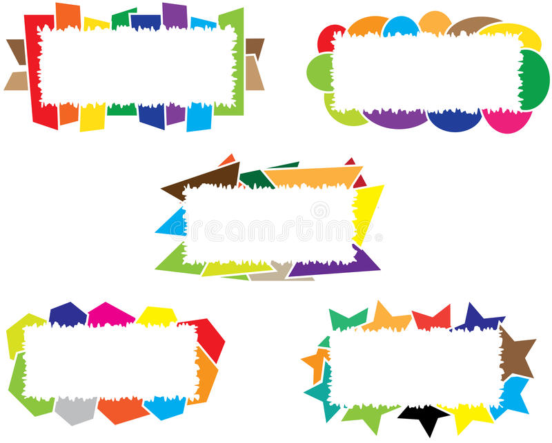 Abstract Message Box royalty free stock image