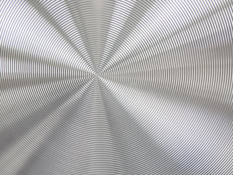 Abstract metal background with fine texture and lines royalty free stock photography