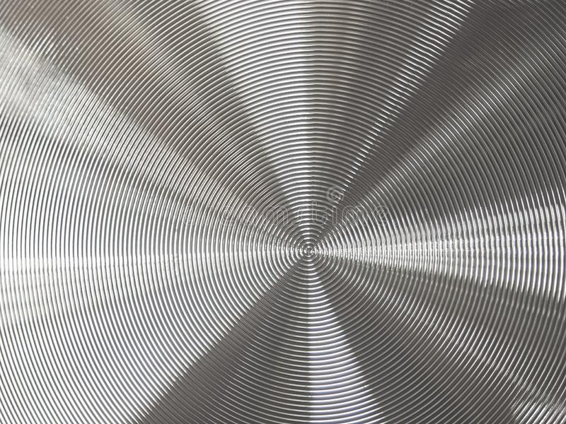 Abstract metal background with fine texture and lines stock photography
