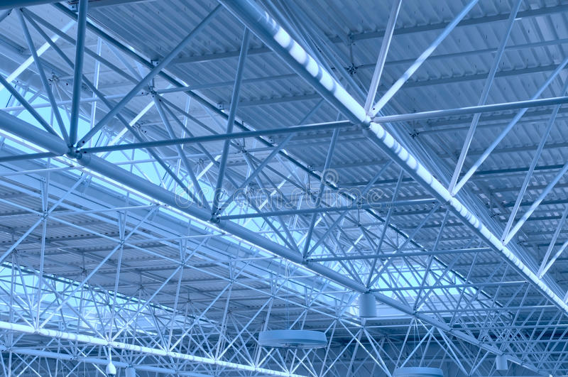 Abstract Metal construction royalty free stock image