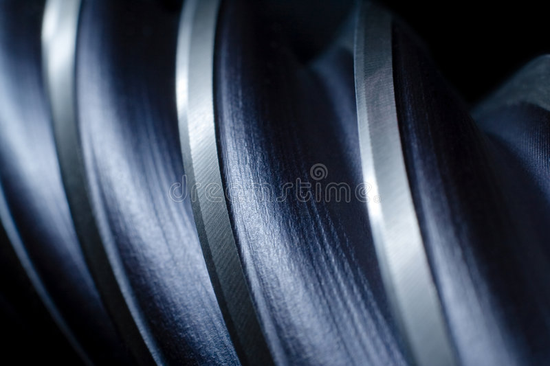 Download Abstract metal drill stock photo. Image of cold, close - 6274496