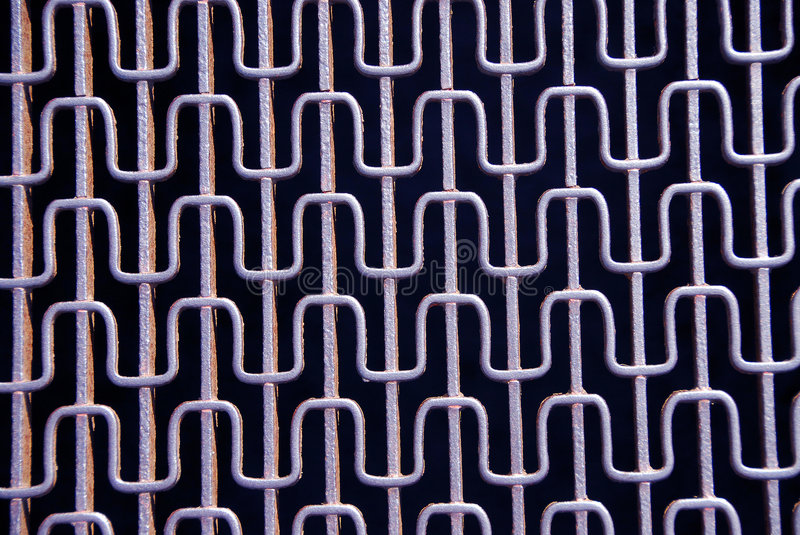 Abstract metal grid royalty free stock photo