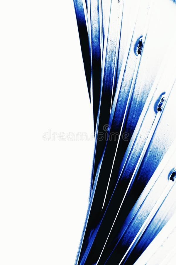 Abstract metal line. Abstract of metal line for background used royalty free stock photography