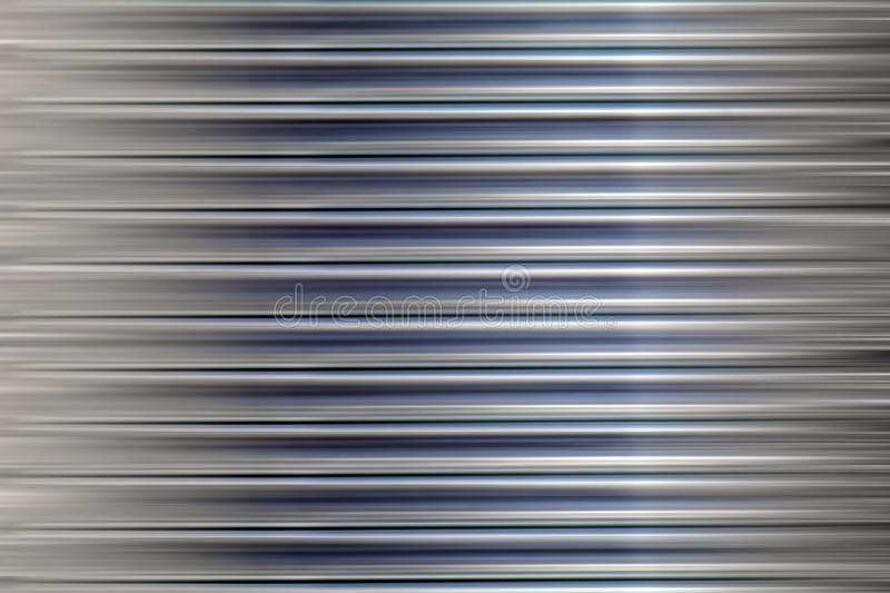Abstract metal stripes stock illustration