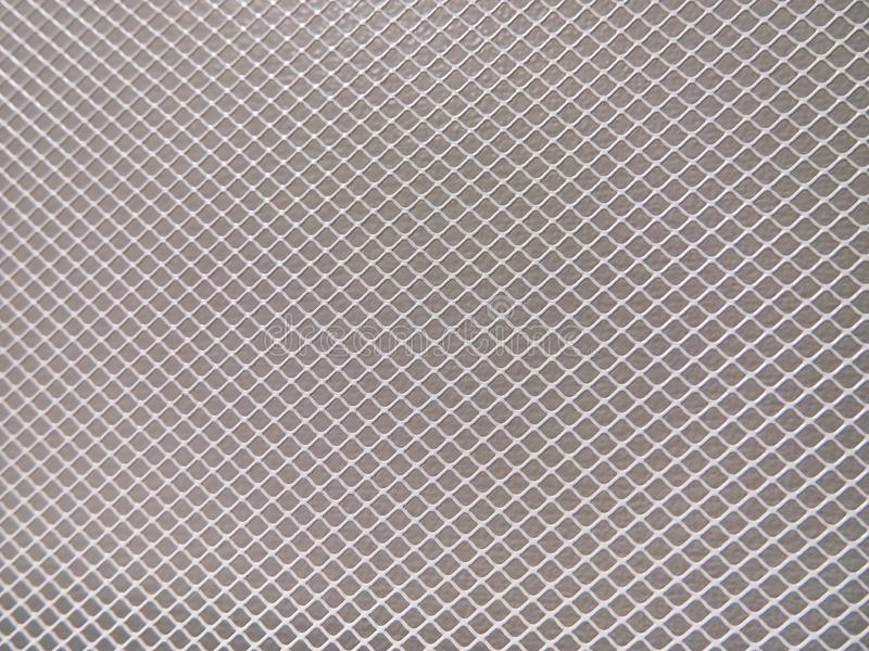 Abstract metal background, mesh with fine texture. stock photo