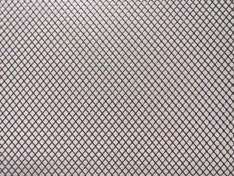 Abstract metal background, mesh with fine texture. stock photography