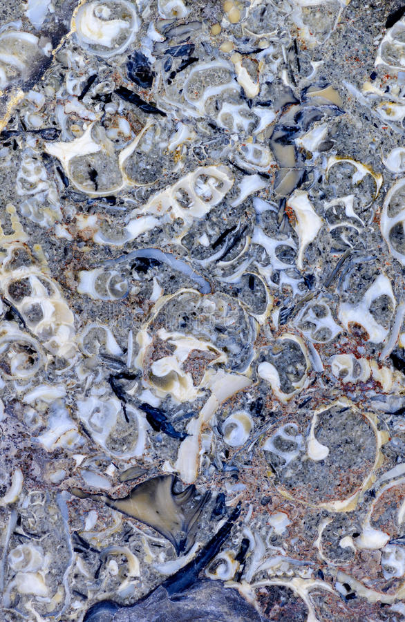 Abstract mineral texture. Backgrounds and textures: limestone, surface of beautiful grey-blue decorative stone, abstract pattern of cracks, spots and stains stock images