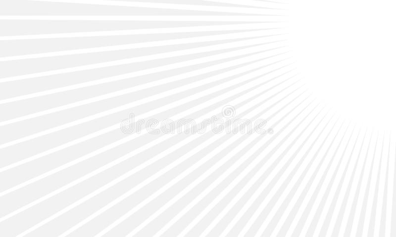 Abstract minimal geometric background with dynamic shapes composition. White and gray color. vector illustration