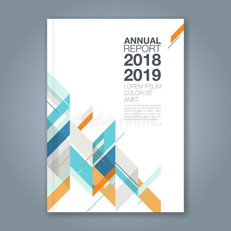 Abstract minimal geometric shapes polygon design background for business annual report book cover brochure flyer poster. Abstract minimal geometric shapes royalty free illustration