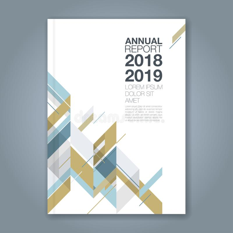 Abstract minimal geometric shapes polygon design background for business annual report book cover brochure flyer poster. Abstract minimal geometric shapes stock illustration