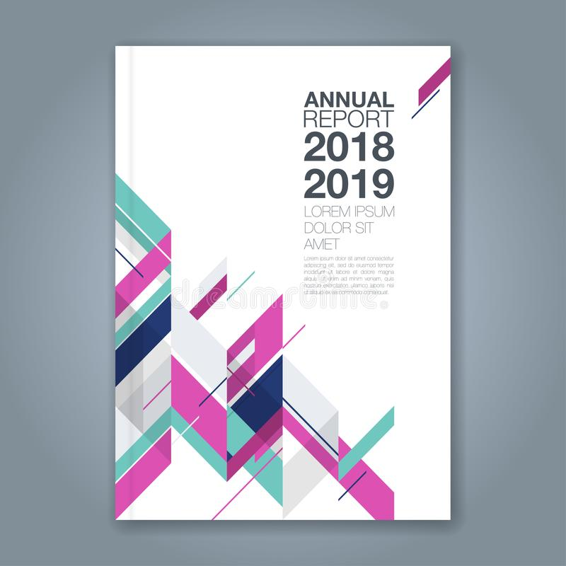 Abstract minimal geometric shapes polygon design background for business annual report book cover brochure flyer poster stock illustration
