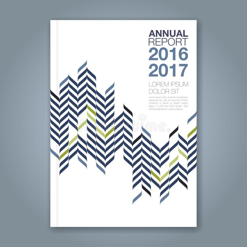Abstract minimal geometric zigzig design background for business annual report book cover vector illustration