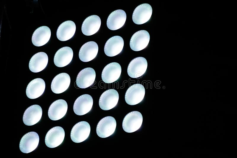 Abstract minimal lights photograph. Photograph of some abstract minimal circular lights stock photos