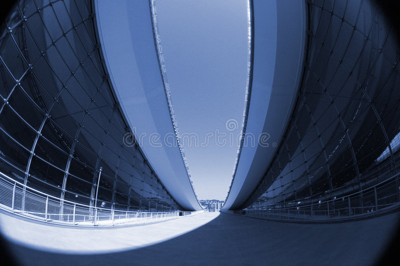 Abstract Modern Architecture stock photography