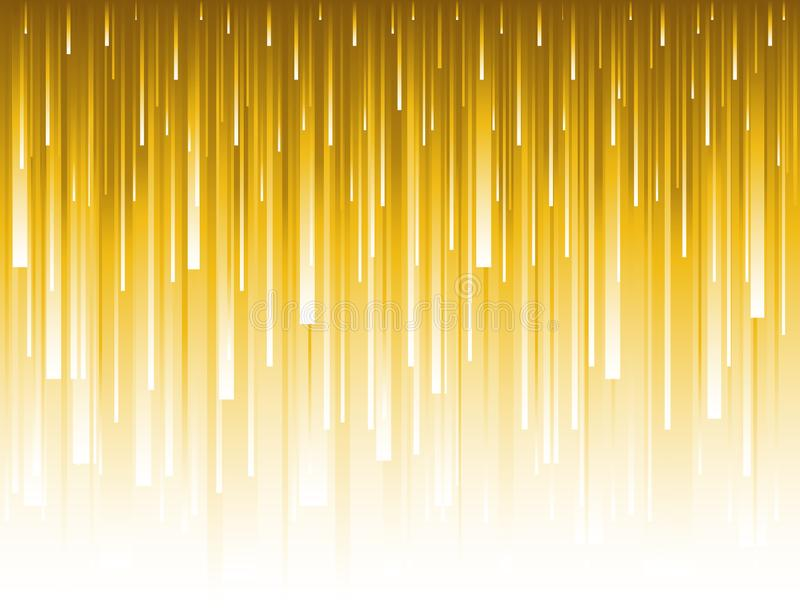 Abstract modern background with golden glittering vertical lines. Backgrounds composed of glowing gold lines. Can be used for royalty free illustration