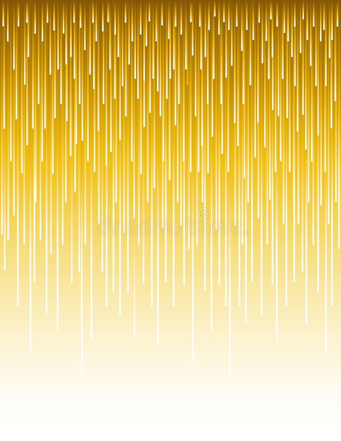 Abstract modern background with golden vertical lines. Backgrounds composed of glowing gold lines. Can be used for scrap booking, vector illustration