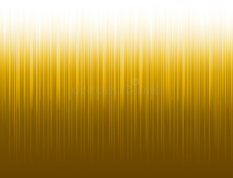 Abstract modern background with golden vertical lines. Backgrounds composed of glowing gold lines. Can be used for scrap booking,. Wallpaper, web, invitation vector illustration
