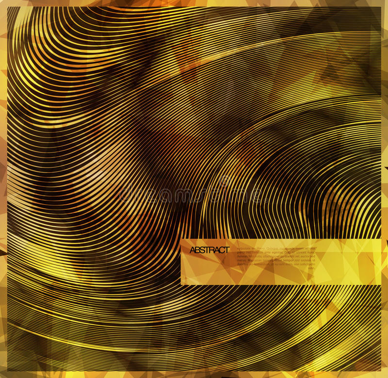 Abstract modern background stock illustration