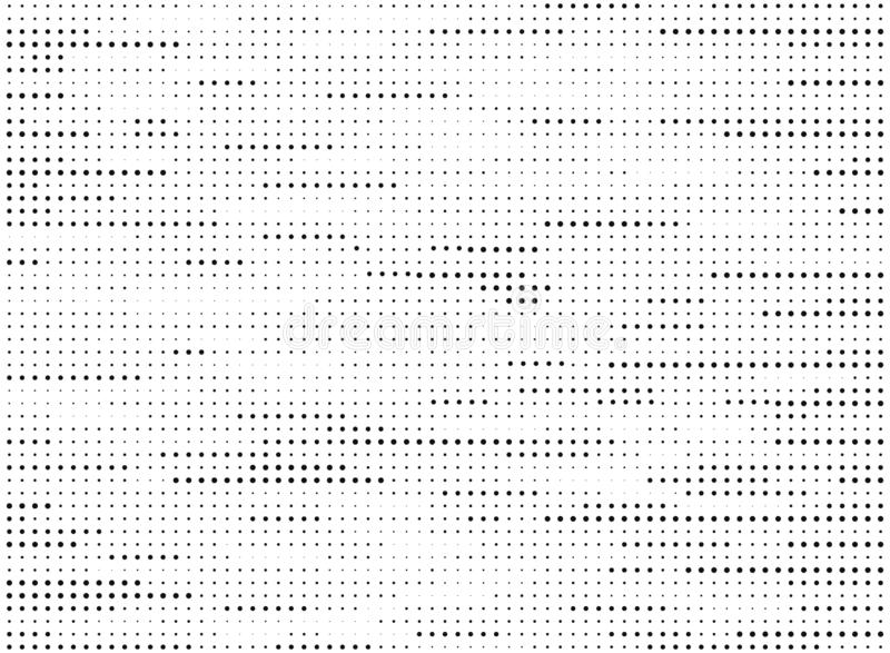Abstract modern black and white dots pattern line halftone texture vector. illustration vector eps10 royalty free illustration