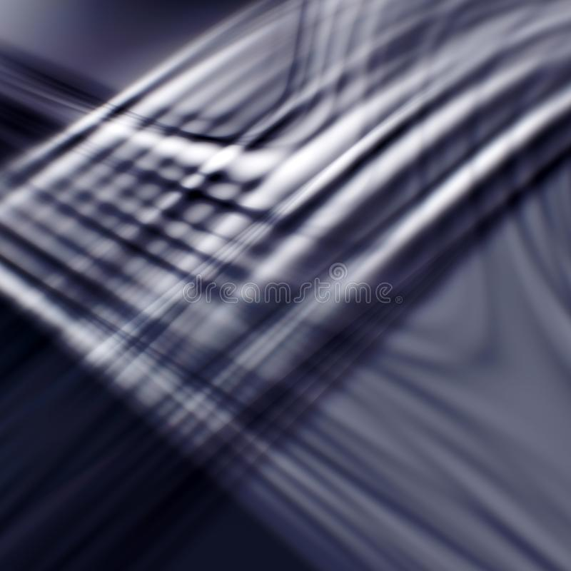 Abstract modern dark background with waves. Abstract modern dark background with light waves and blurry effect. Useful for website design, mobile application & royalty free illustration