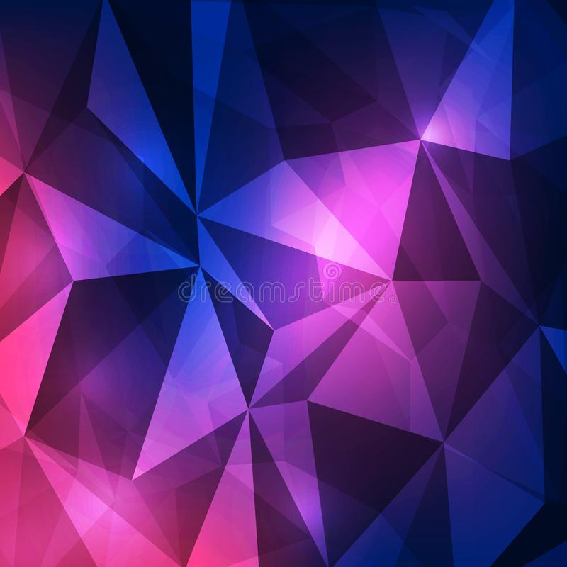 Abstract modern graphic design background, vector illustration. Innovation website art geometric royalty free illustration