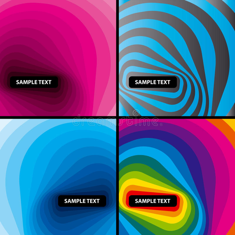 Download Abstract Modern Layout Set. Vector. Stock Vector - Image: 11827674