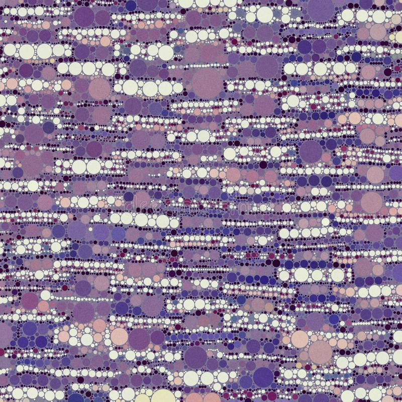 Abstract modern organic purple geometrical background. With circles and rectangles in watercolor stock images
