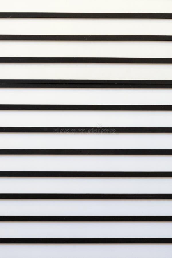Abstract modern patroon met zwart-witte parallelle strepen Lege ruimte voor ontwerp royalty-vrije stock afbeelding